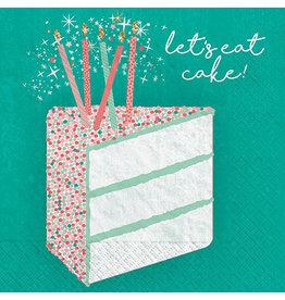 Amscan Happy Cake Day Bev. Napkins - 16ct.