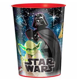 Amscan Star Wars Galaxy 16oz Favor Cup - 1ct.