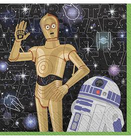 Amscan Star Wars Galaxy Bev. Napkins - 16ct.