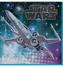 Amscan Star Wars Galaxy Lun. Napkins - 16ct.