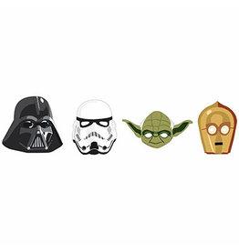 Amscan Star Wars Galaxy Masks - 8ct.
