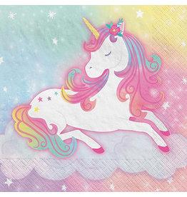 Amscan Enchanted Unicorn Bev. Napkins - 16ct.