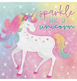 Amscan Enchanted Unicorn Lun. Napkins - 16ct.