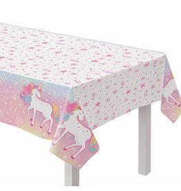 "Amscan Enchanted Unicorn Tablecover - 54"" x 102'"
