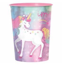 Amscan Enchanted Unicorn 16oz Favor Cup - 1ct.