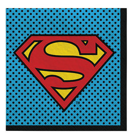 Amscan Superman Lunch Napkins - 16ct.