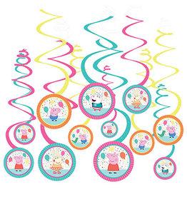 Amscan Peppa Pig Swirls - 12ct.