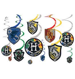 Amscan Harry Potter Swirls - 12ct.