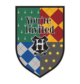 Amscan Harry Potter Invites - 8ct.