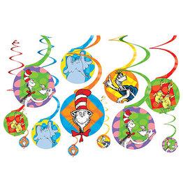 Amscan Dr. Seuss Swirls - 12ct.