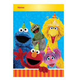 Amscan Sesame Street 2 Loot Bags - 8ct.