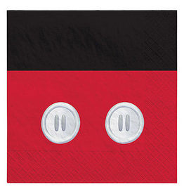 Amscan Mickey Mouse Forever Lun. Napkins - 16ct.