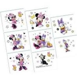 Amscan Minnie Mouse Tattoos - 8ct.