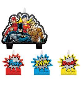 Amscan JL: Heros Unite Birthday Candle Set