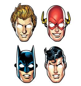 Amscan JL: Heros Unite Masks - 8ct.