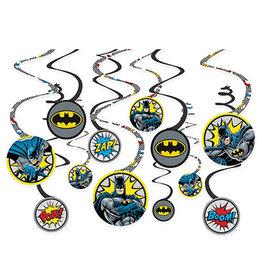 Amscan JL: Batman Swirls - 12ct.