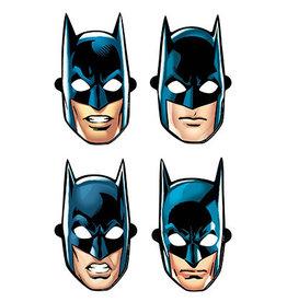 Amscan JL: Batman Masks - 8ct. (4 dif. designs)