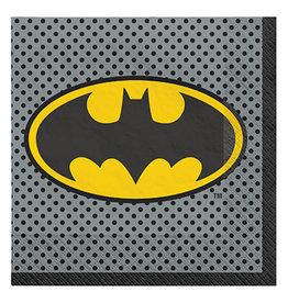 Amscan JL: Batman Lun. Napkins - 16ct.