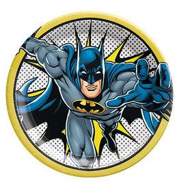 "Amscan JL: Batman 9"" Plates - 8ct."