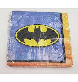 Amscan JL: Batman Bev. Napkins - 16ct.