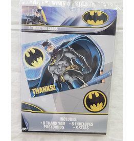 Amscan JL: Batman Thankyous - 8ct.