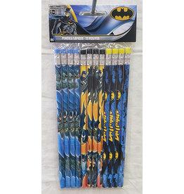 Amscan JL: Batman Pencils - 12ct.