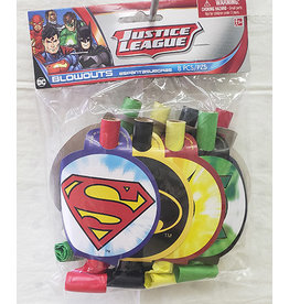 Amscan Justice League Blowouts - 8ct.
