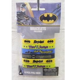 Amscan JL: Batman Bracelets - 4ct.