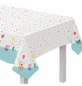 """Amscan Peppa Pig Confetti Party Tablecover - 54"""" x 96"""""""