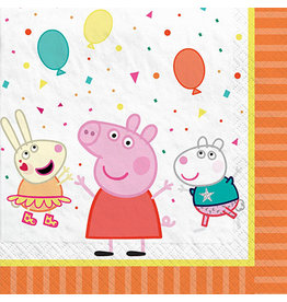 Amscan Peppa Pig Confetti Party Lun. Napkins - 16ct.
