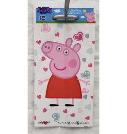 Amscan Peppa Pig Jumbo Sticker - 1ct.