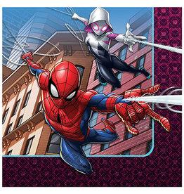 Amscan Spiderman Webbed Wonder Bev. Napkins - 16ct.
