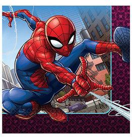 Amscan SpiderMan Webbed Wonder Lun. Napkins - 16ct.
