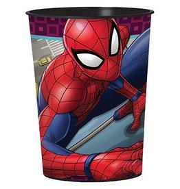 Amscan Spiderman Webbed Wonder 16oz. Cup - 1ct.