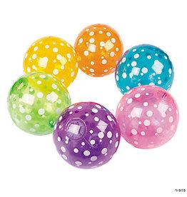 """fun express 9"""" Polka Dot Beach Ball - 1ct."""