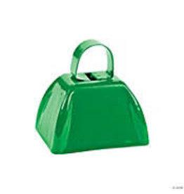 fun express Green Cowbell - 1ct.