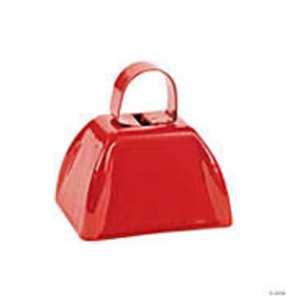 fun express Red Cowbell - 1ct.