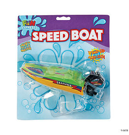 fun express Wind Up Speed Boat - 1ct.