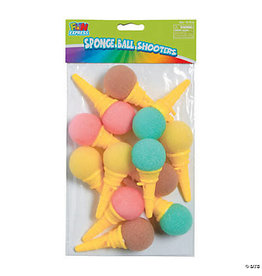 fun express Mini Ice Cream Cone Shooters - 12ct.