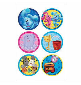 Amscan Blues Clues Stickers - 24ct.