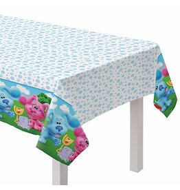 """Amscan Blues Clues Tablecover - 54"""" x 96"""""""
