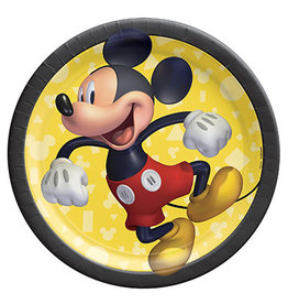 """Amscan Mickey Mouse Forever 7"""" Plates - 8ct."""
