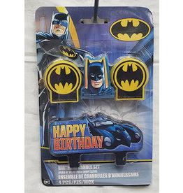 Amscan Batman Birthday Candle Set