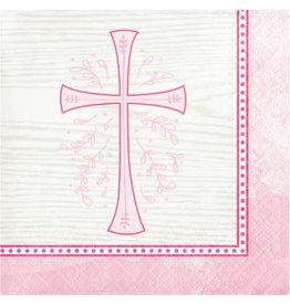creative converting Pink Divinity Bev. Napkins - 16ct.