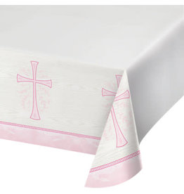 """creative converting Pink Divinity Tablecover - 54"""" x 102"""""""