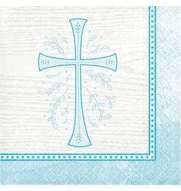 creative converting Blue Divinity Bev. Napkins - 16ct.