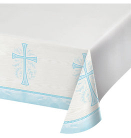 """creative converting Blue Divinity Tablecover - 54"""" x 102"""""""