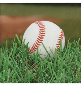 creative converting Baseball Bev Napkins - 16ct.