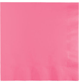 Touch of Color Candy Pink Dinner Napkins - 25ct.