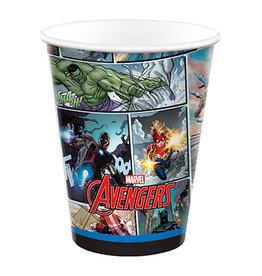 Amscan Avengers Powers Unite 9oz Cup - 8ct.